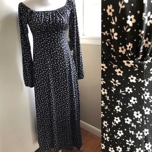 NWT Velvet Torch Floral Empire Waist Midi Dress